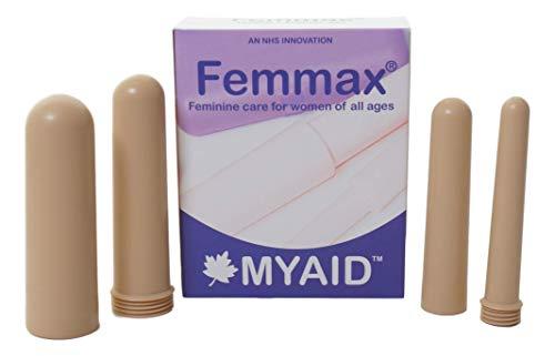 Myaid Femmax Dilatadores Vaginales Set de 4 piezas, Beige 250 g