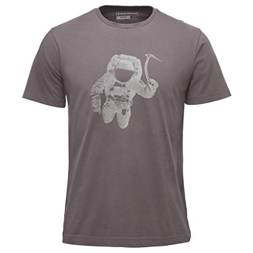Black Diamond M SS Spaceshot Tee T-Shirt pour Homme L Ardoise