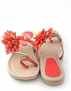 Family Fashion MART Women's Flats-Fool-Peach (S.NO-36)