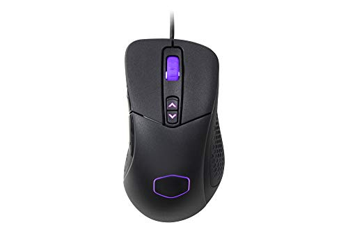 Cooler Master MM531 Gaming Mouse with 12,000 DPI Optical Sensor, On-the-Fly DPI, 3-Zone RGB and PBT buttons