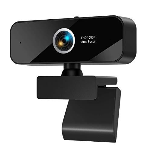 Webcam Pc Full Hd 1080P con Micrófono Marca eztechny