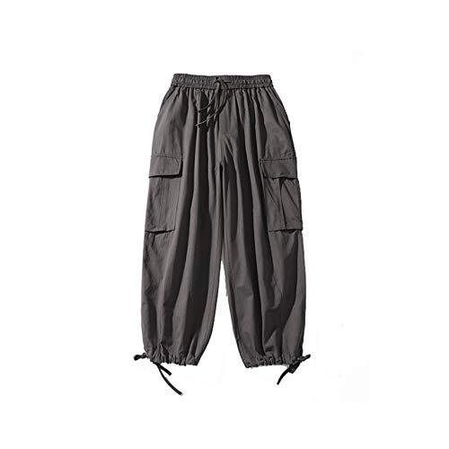 Pantalones Cargo Sencillos para Hombre Pantalones Cortos Holgados de Pierna Ancha Suaves y cómodos para Monos Resistentes al Desgaste
