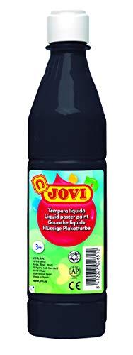 Jovi - Tempera in schwarz, Größe 500 mililitros