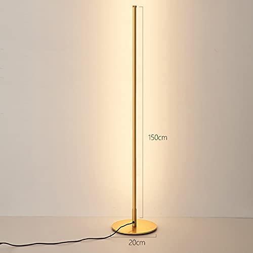 YAS Eking Ventas Moderno LED Lámpara de pie Esquina de la cabecera Decoración de la cabecera Decoración de la noche Decoración del hogar Piso Luz Interruptor CA LED Bulbos Hierro Aluminio