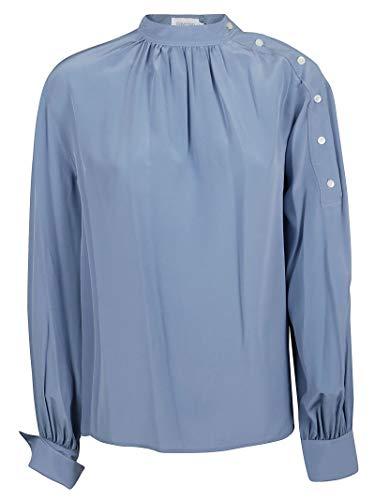 Luxury Fashion | Calvin Klein Dames K20K200987427 Blauw Zijde Blouses | Herfst-winter 19