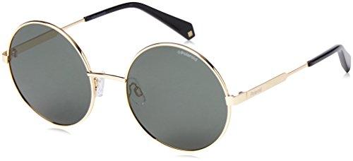 Polaroid PLD 4052/S UC J5G 55 Gafas de sol, Dorado (Gold/Green Pz), Mujer