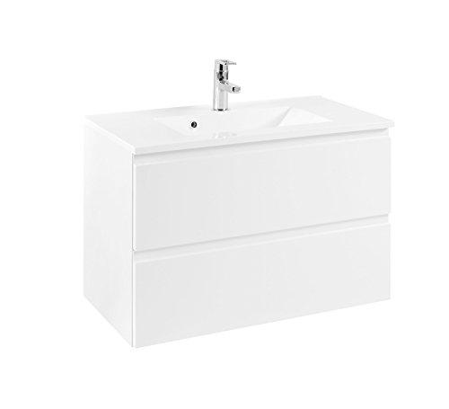 Held Möbel 098.1.3102 Waschtisch 80, Holzwerkstoff, weiß, 47 x 80 x 56 cm