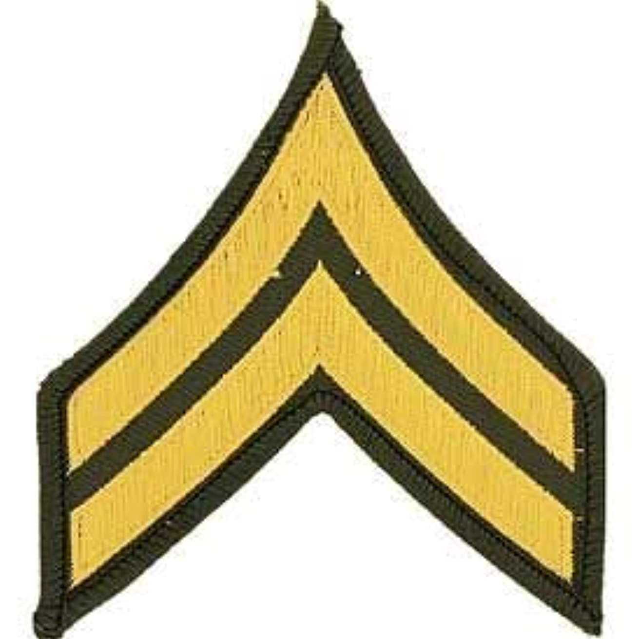 US Army, E4 Corporal - Novelty Patches, Embroidered Sew On Patch - 3