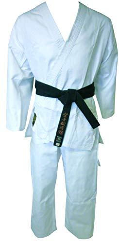 Montana mkk1000130cm Kimono Karate Unisex, Color Blanco