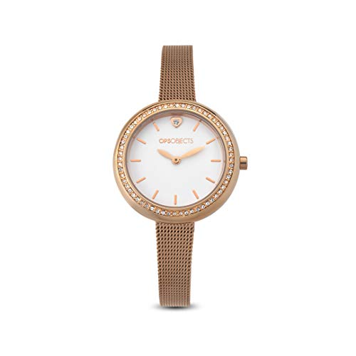 Objects Orologio Donna Oro rosa Maglia Milano OPS Charme Mesh OPSPW-573