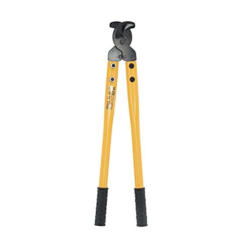 Cortacables Pelacables que ahorra mano de obra Alicates de acero Herramienta manual con brazos largos para cortar alambre de cobre-aluminio 250 mm² LK-250