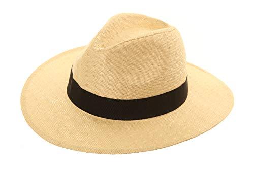 Black Jungle Sombrero de verano Havanna Mossman natural Bogart panamá naturaleza Talla única