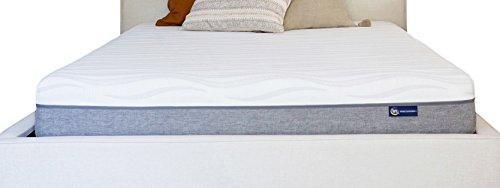 Serta - Colchón de Espuma viscoelástica (22,86 cm), Color Bl