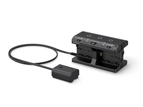 Sony NPA-MQZ1K (Vierfachladegerät für Akkus Z und W-Serie, inkl. 2 Z-Akkus NP-FZ100) passend für Alpha Kameras