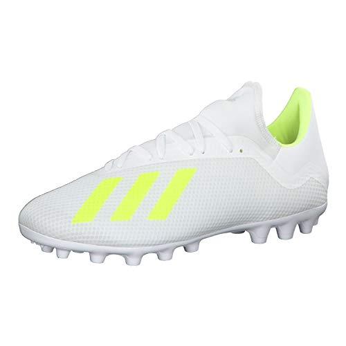 Adidas X 18.3 AG, Zapatillas de fútbol Sala Hombre, Multicolor (Ftwbla/Amasol/Ftwbla 000), 39 1/3 EU ✅
