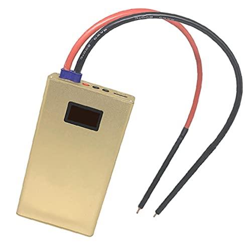 Soldador portátil Soldador OLED Ajustable 10600mAH Herramienta de soldadura de la batería 18650 DIY SPOT PEN DURANTE