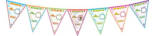 Teacher Created Resources All About Me Pennants Bulletin Board (5578) Photo #2