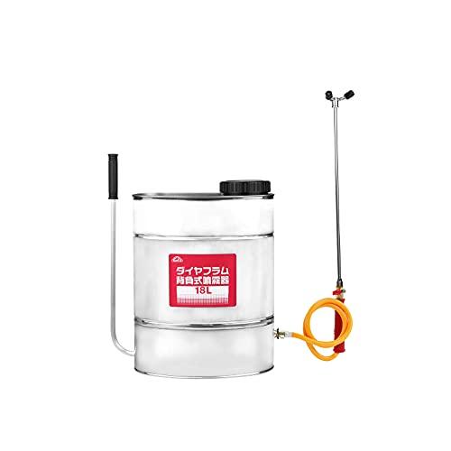 藤原産業 セフティ-3 ダイヤフラム背負式噴霧器 18L