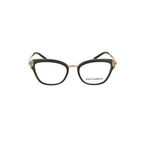 Occhiali da vista Dolce & Gabbana FILIGREE & PEARLS DG 5052 BLACK 52/19/140 donna