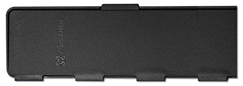 Wüsthof 9921-4 Blade Protectors with Magnet Set Plastic 20 x 5.5 cm Black