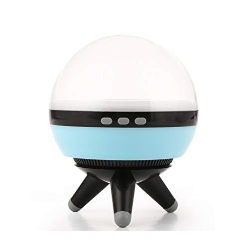 WYZ - Luz nocturna con proyección de cielo estrellado, LED de rotación de atenuación colorida, los niños duermen pacíficamente lámpara de mesa, el mejor regalo para los amantes de los amigos