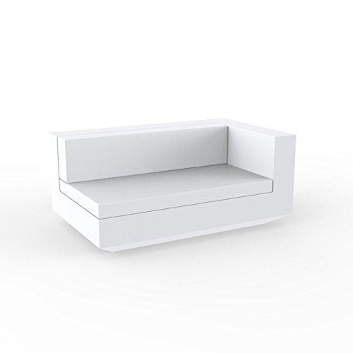 Vondom Sofa MODULO Izquierdo XL - Blanco