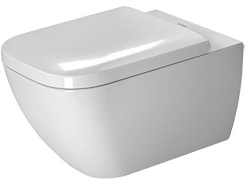 Duravit 2222090092 white Toilet WM 540mm Happy D.2 washdown, rimless, US, Large