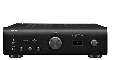 Denon PMA-1600NE Amplificatore con DAC Incorporato, 70+70 W RMS su 8 Ohm, 140+140 W su 4 Ohm, Nero
