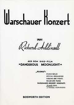 WARSCHAUER KONZERT CPLT - arrangiert für Klavier [Noten / Sheetmusic] Komponist: ADDINSELL RICHARD