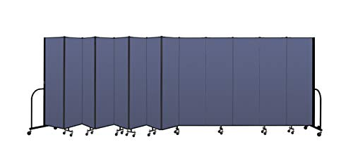New Screenflex Commercial Portable Room Divider (CFSL6813-DS) 6 Feet 8 Inches High by 24 Feet 1 Inch...