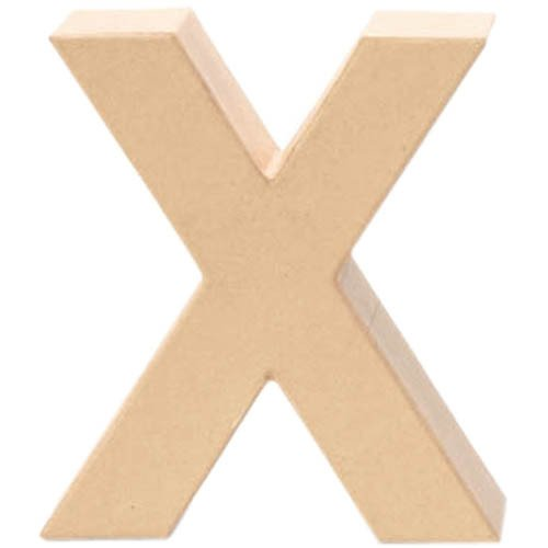 Creative Lettre en Carton x ,17,5x5,5cm [Jouet]