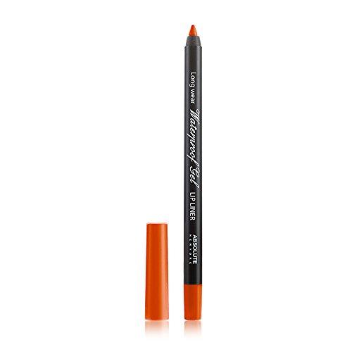 Absolute New York Waterproof Gel Lip Liner - orange, 1 Stück