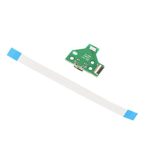 Gazechimp Tarjeta de puerto de carga de USB 12 PIN Flex Ribbon...