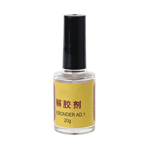 Gjyia 20 g Kleber Klebstoff Superglue Remover Cleaner Debonder Flasche für UV-Epoxidharz