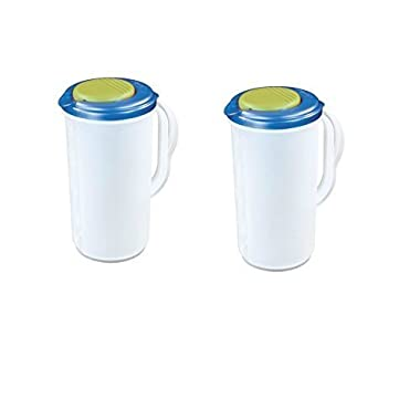 Sterilite Pitcher (Blue-Green / 2 Qt.-1.9L) (BLUE, 2)