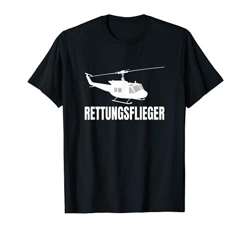 SAR Rettungsflieger Flugrettung Hubschrauber Geschenk T-Shirt
