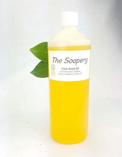 Chia Zaad Olie Organische Koud Geperst 1 liter - 100% Pure