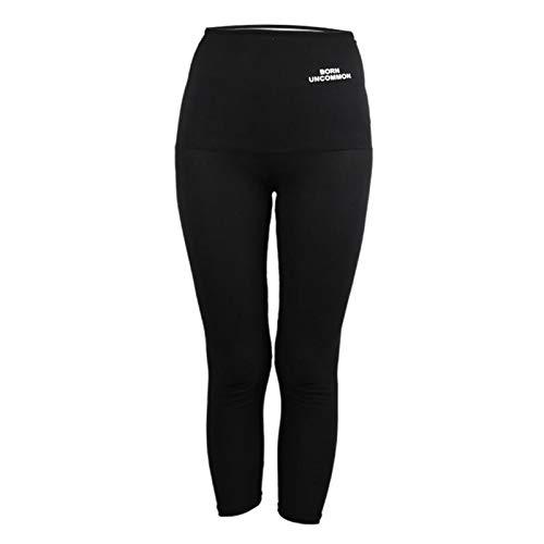 Sharplace Pantaloni Sauna Dimagranti, Leggings Anticellulite Donna Fitness, Legging Termici Alta Effetto Snellente per Yoga Corsa Palestra Sport - Pantaloni M, M L