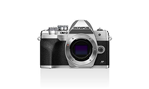OLYMPUS E-M10 MARK IV BODY SILVER