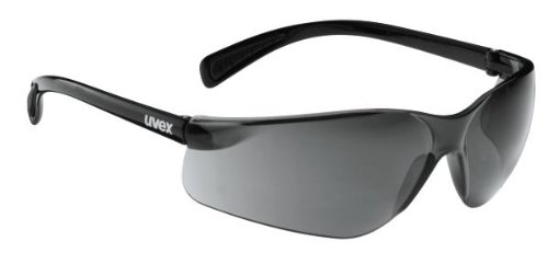 Uvex Flash Fahrrad / Sport Brille schwarz (black shiny/smoke) S5302792210