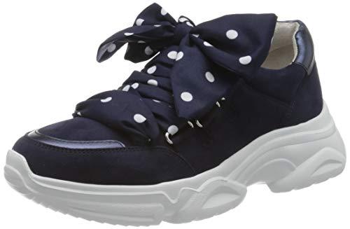 Gabor Damen Jollys 43.472 Sneaker, Blau (Bluette/Night 16), 38.5 EU