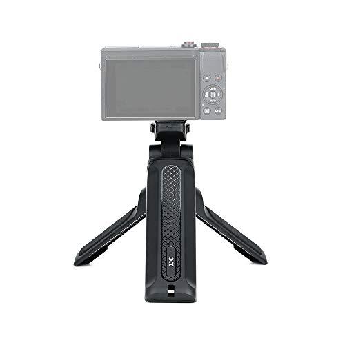 JJC Cámara mano agarre disparo mango mesa superior trípode selfie stick estabilizador de mano para Canon Nikon Sony DSLR cámara digital videocámara