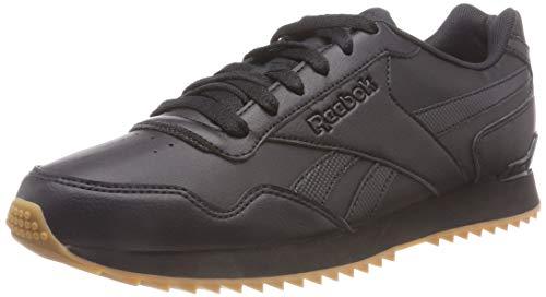 Reebok Royal Glide Ripple Clip, Zapatillas Clasicos para Hombre, Negro (Black/Gum), 45 EU