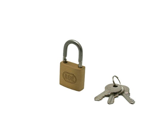 ハイロジック ステンWロック南京錠30ミリ同一鍵 3本キー G022