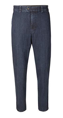 Brühl - Herren Flatfront Jeans, Parma (0319190340100), Größe:48, Farbe:Blau (910)