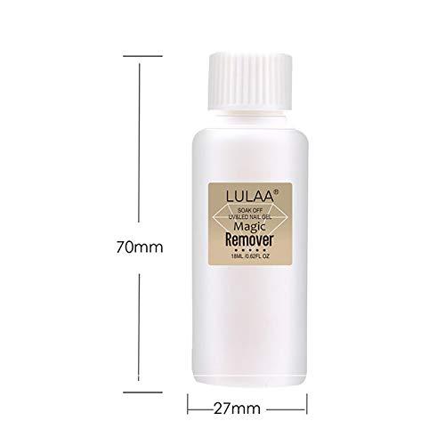 Fanville Nagellak Remover Gel Nagellak Remover Soak-Off Gel Snelle Nagel Art Clean Verwijdering Niet-Irriterend