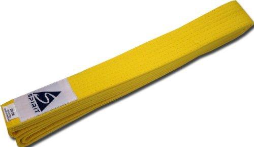 Gelber Gürtel für Kampfsport (Judo, Karate, JuJitsu, Taekwondo), Erwachsene, 280cm