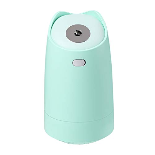 Zxb-shop Comfort Humidifier New Small Humidifier Large Capacity Home Silent Bedroom Dormitory Student Mini Fog Air Purifier Humidifiers for Bedroom (Color : Green)