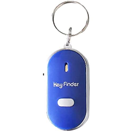 HYZHYZ Rastreador GPS Bluetooth 4.0 Smart Anti Perdida Alarma Tracker Key Finder Niño Anciano Perdido Recordatorio Mascotas, Teléfono, Cartera, Bolso Niños y Más (Azul)