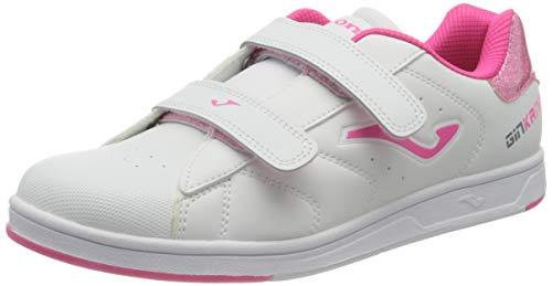 Joma W.GINW-910, Chaussure de Foot en Salle Bébé Fille, Blanc, 22 EU
